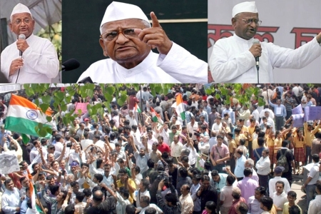Anna Hazare - The New Saint of India and the awakened Indian Middle Class